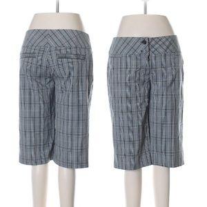 NWOT Cropped Plaid Pants